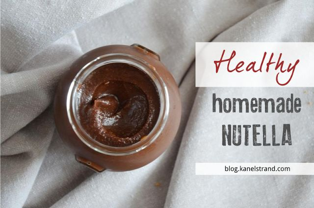 "Homemade Nutella. . Although Nutella is marketed as ""hazelnut cream"", its main ingredients are sugar and palm oil! Nutella is 55% sugar! Try this DIY Homemade version and you won't go back."
