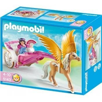 Princess with pegasus carriage the playmobil princess - Playmobil kutsche ...
