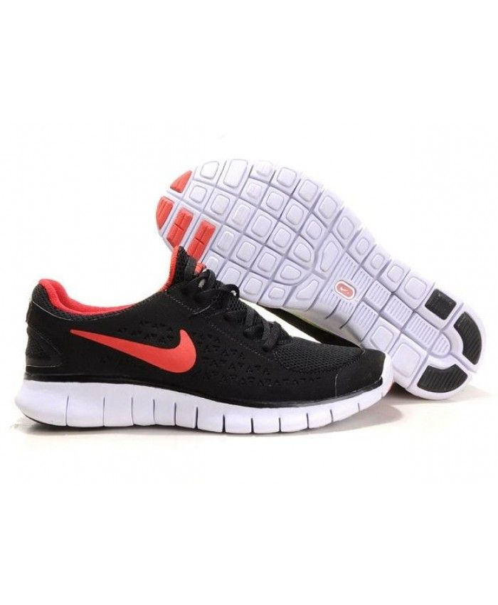 wholesale dealer 40a55 54632 Nike Free Run Homme Noir Rouge Blanc
