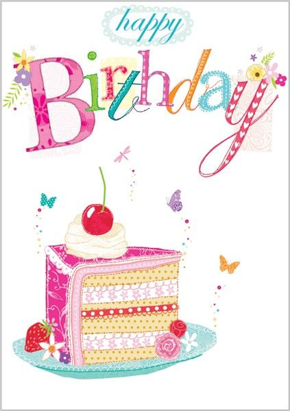 Happy Birthday Cake - Abacus Cards:
