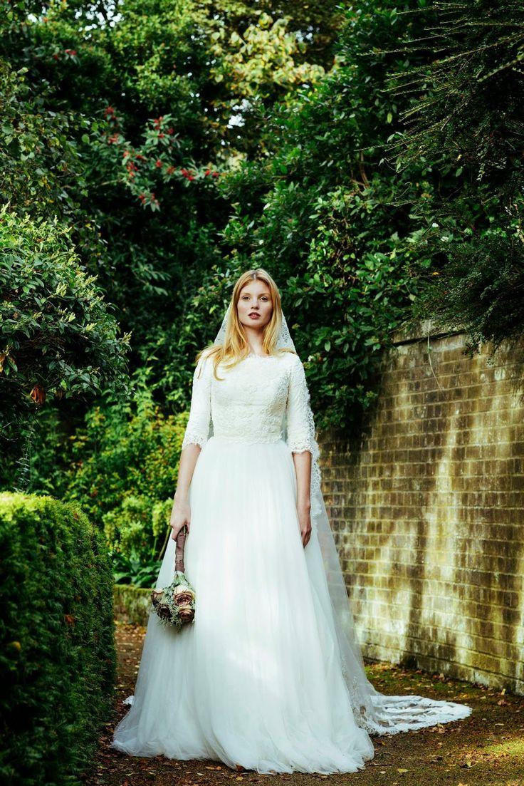 Designer spotlight marelus evening wear spotlight maze for Modest wedding dress designers