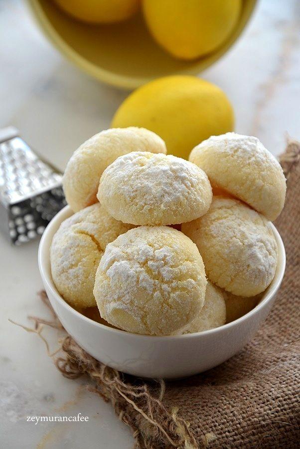 limonlu şekerli kurabiye tarifi