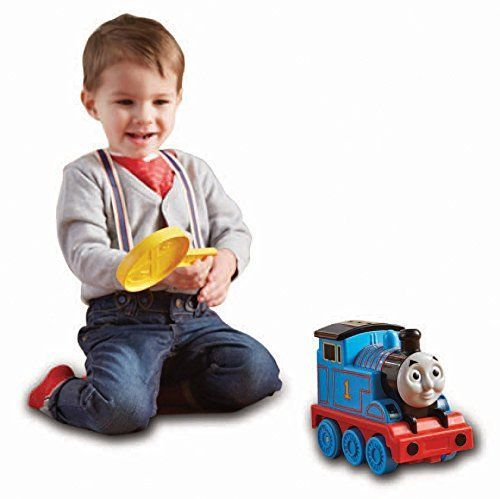 Thomas is ready for a fun-filled journey, and you can be part of the adventure as you send him on his way! After pressing Thomas? dome, place your hand over his roof and wave forward to send him forwa