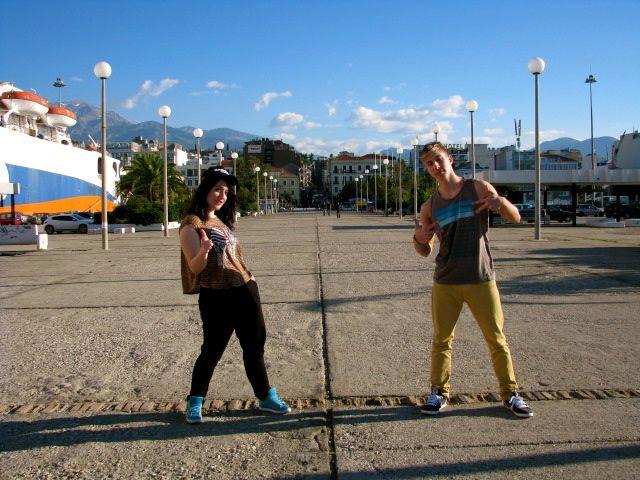 Chrysa Stam & Bboy Mugi!