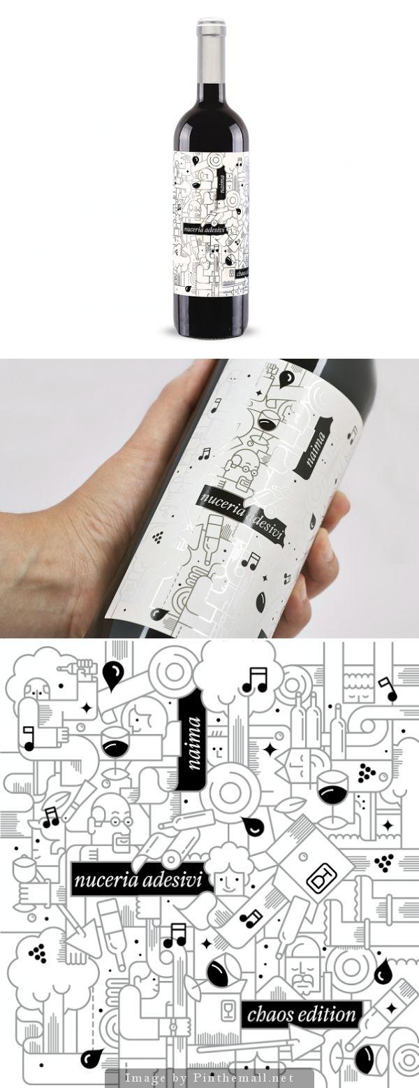 Nuceria's #wine, Creative Agency: nju:comunicazione - http://www.packagingoftheworld.com/2014/09/nucerias-wine.html
