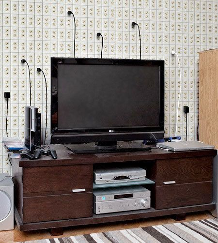 Outlet Wall: Concepts For Green Living