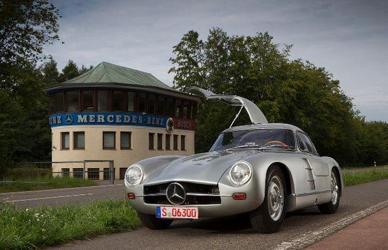 Mercedes-Benz 300 SL, the cream of German engineering.via Complex