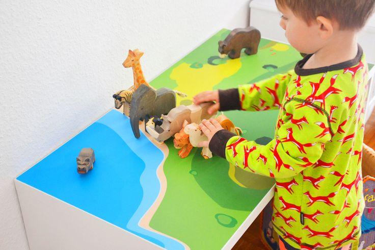 31 besten ikea hack stuva bilder auf pinterest kinderzimmer ideen m dchenzimmer und spielzimmer - Klebefolie mobel kinderzimmer ...
