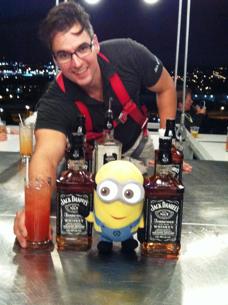 Notre ami Dave adoooore le Jack Daniels