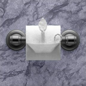 Impress house guests with toilet paper origami!
