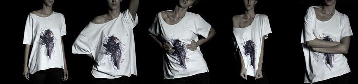 WIND print on 100% cotton t-shirt for sale at  https://www.etsy.com/shop/bynaja www.facebook.com/bynaja