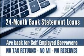 Bank Statement Mortgage Loan Program