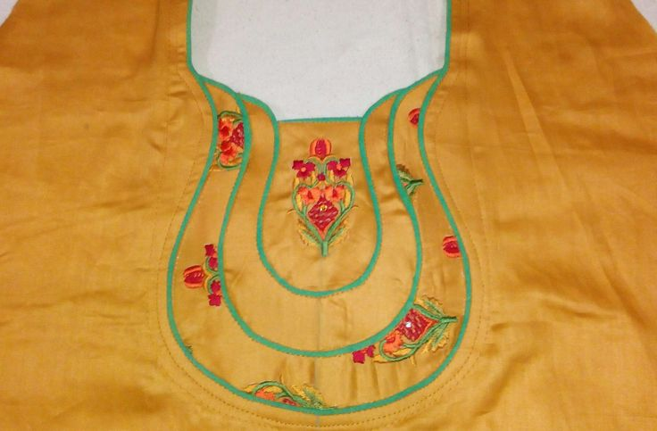 Kameez Neck Design cutting and stitching step by step in Hindi - YouTube