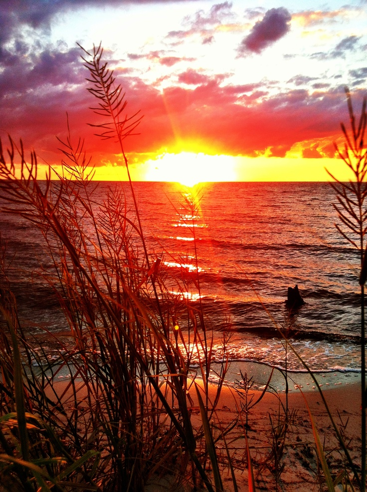 Sunset Collington Harbor NC