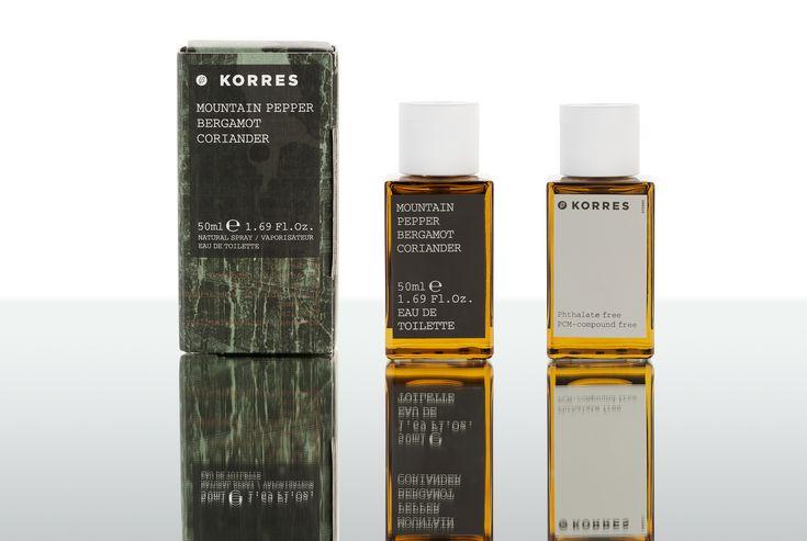 Mountain Pepper #korres #fragrance