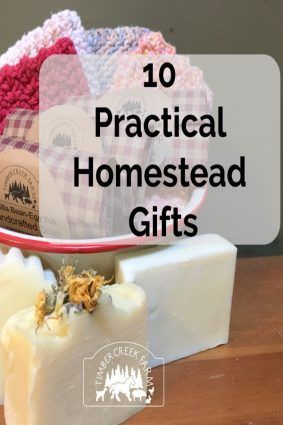 10 Practical Homestead Gifts | Homemade gifts, Homemade ...