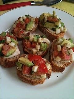 vegan hors d'oeuvres