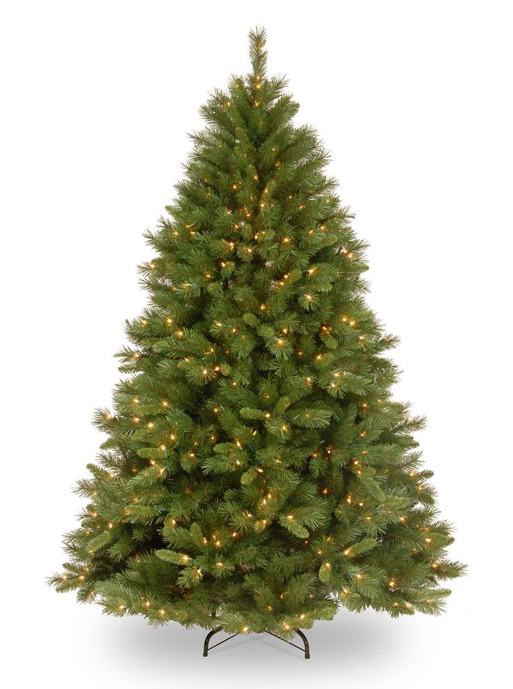 8ft Pre-lit Winchester Pine Artificial Christmas Tree
