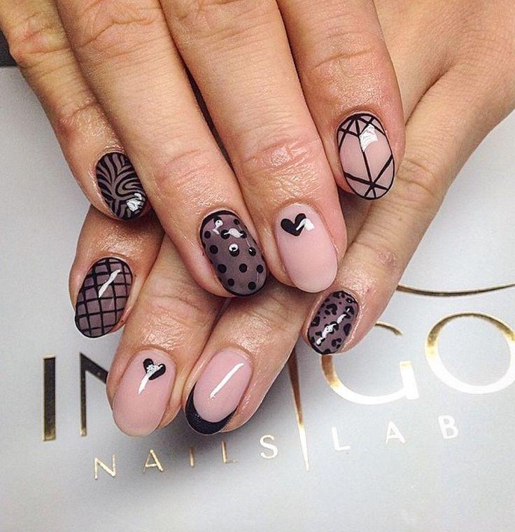 by Ania Leśniewska Indigo Nails Lab - Find more Inspiration at www.indigo-nails.com #Nail #Nailsart #nude