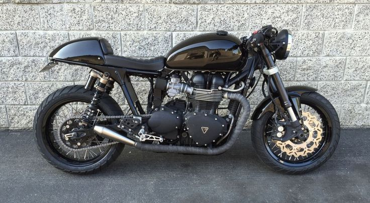2009 Triumph Thruxton Cafe Racer | Moto Chop Shop