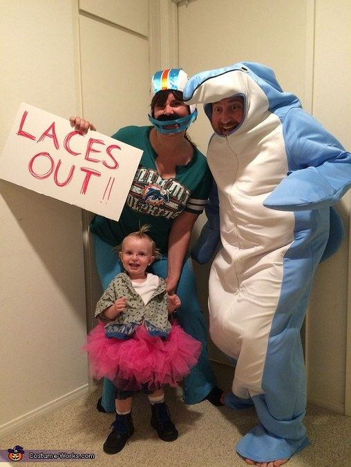 Ace Ventura Pet Detective Family Costume