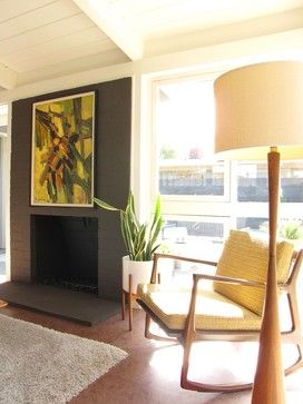 My Houzz: A Mid-Century Marvel Revived in Long Beach modern living room