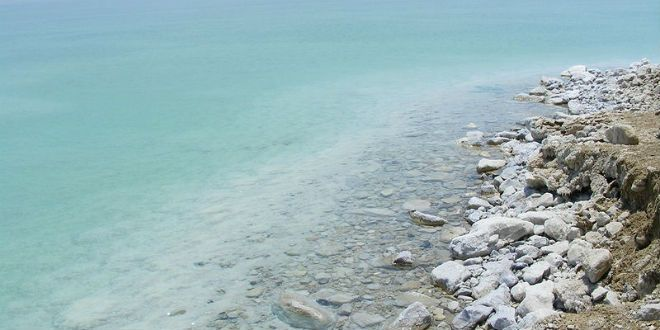 RECENT DEAD SEA EARTHQUAKE USHERING IN END OF DAYS PROPHECY - 4.4 MAG. on 7/30/2015  -- Dead Sea, Israel. (Photo: xta11/ Wiki Commons)