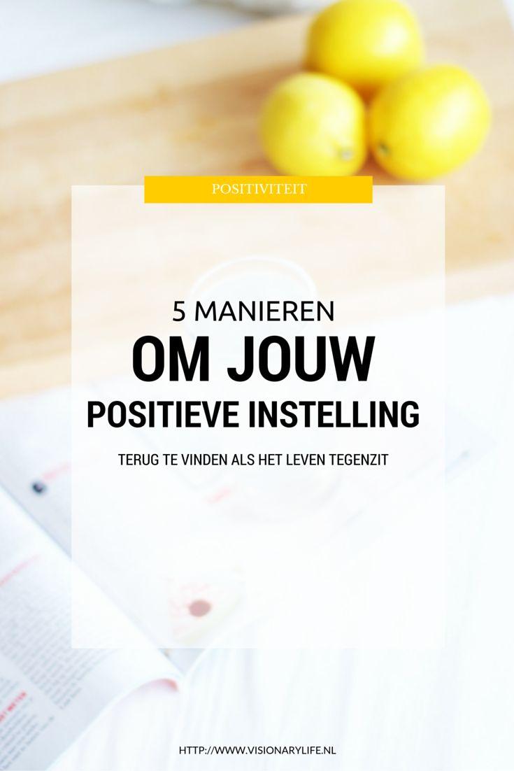 Het positieve vinden in een nare situatie is namelijk naar mijn idee één van de moeilijkste dingen om te doen, hoe positief je als persoon ook in het leven staat. Met deze 5 tips gaat het jou zeker lukken!