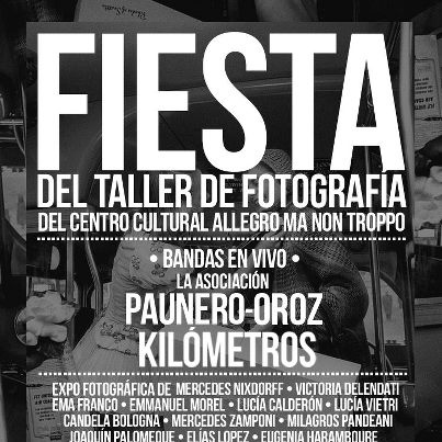 Fiesta del taller de fotografía de Allegro ma non troppo