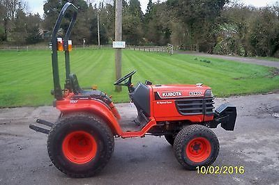 Kubota #compact tractor #b2400 only 513 #hours,  View more on the LINK: 	http://www.zeppy.io/product/gb/2/222023991752/