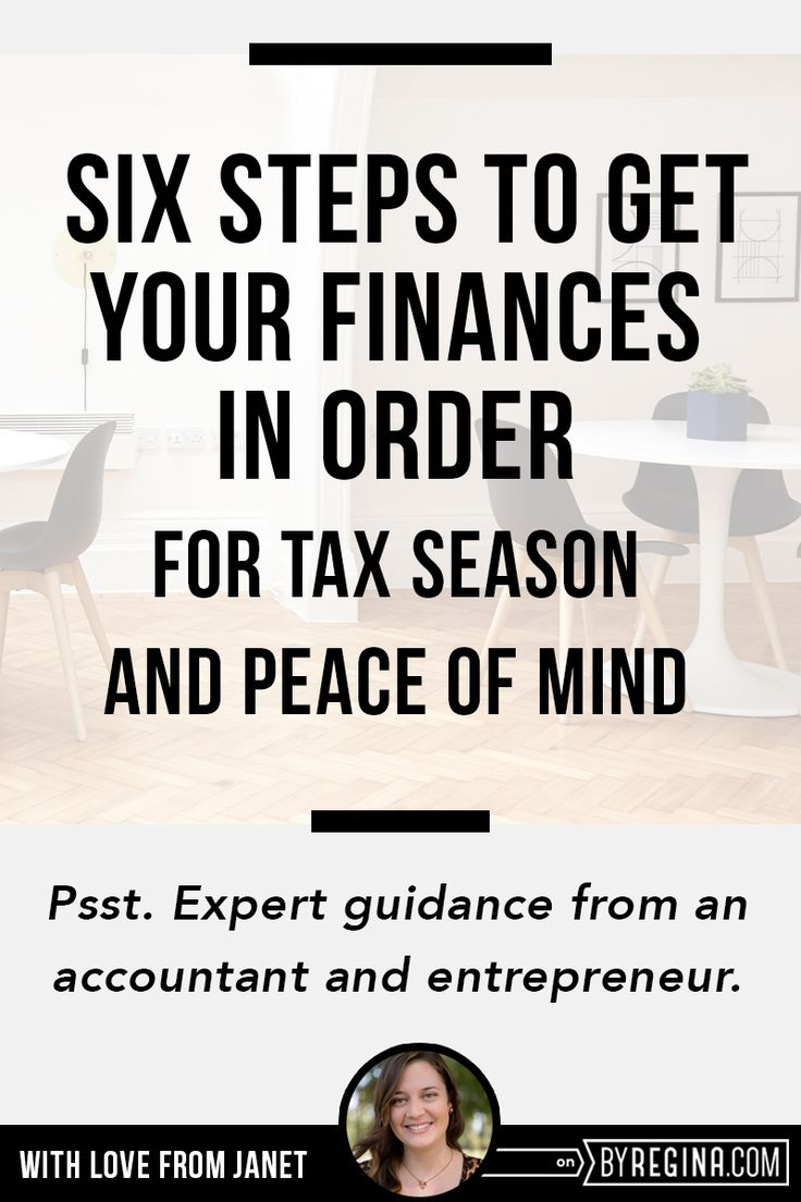 It's time to get your business finances in order, to help you make and keep more of your money.