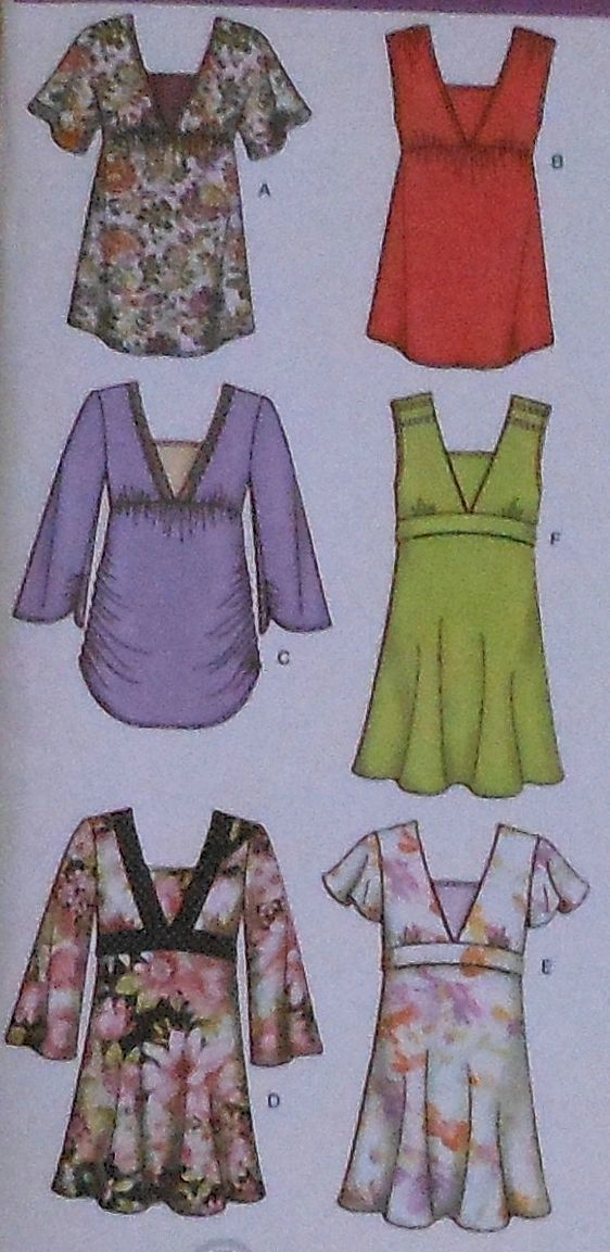 Tops Sewing Pattern