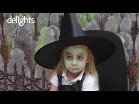 Trucco facile da strega per bambina piccola - VideoTrucco