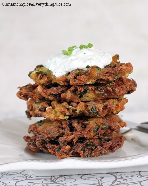 Spinach, Feta , Potato Pancakes, make ahead and reheat.  Veggies and Potatoes together.  Easy side