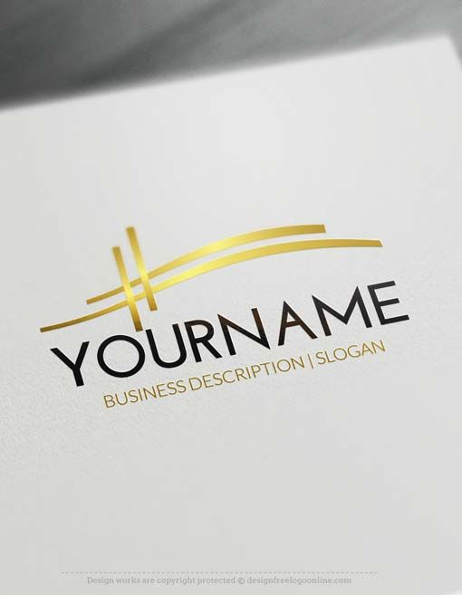 Free Logo Maker Abstract Bridge Logo Design