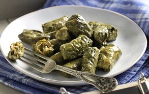 These stuffed grape vine leaves may be one of my favourite recipes!