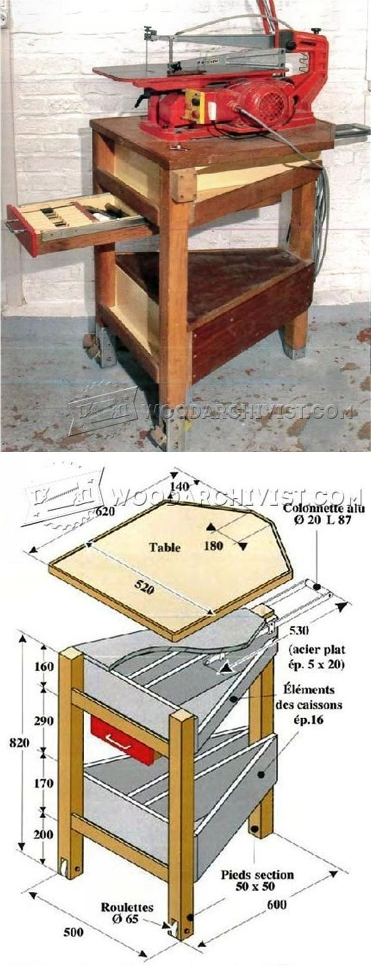 Best 25 scroll saw patterns ideas on pinterest scroll for Table saw cabinet plans free