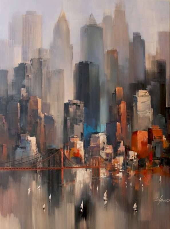 Urban, Wilfred Lang, Paintings