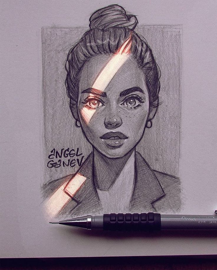 "Angel Ganev auf Instagram: ""Window Gentle~😍✨ Pencil sketch and enjoying aro…"
