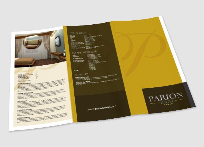 Broşür Tasarımı - Parion Hotel