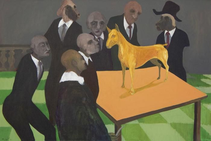 Richard Mudariki: The dog anatomy lesson - ON LOAN