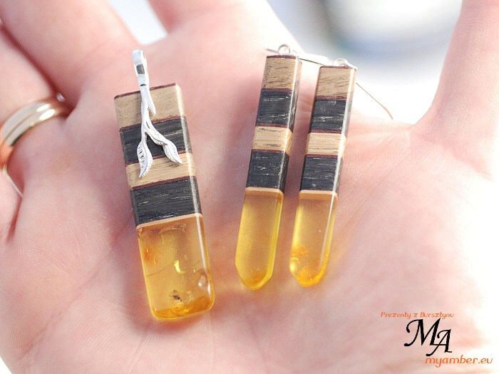 SET Amber Stone wood Silver Sterling 14324 AUTHOR'S  +Certificate by myamberEU on Etsy https://www.etsy.com/listing/578315789/set-amber-stone-wood-silver-sterling