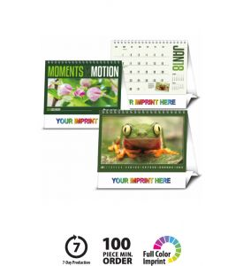 Product: 1D525 2018 Modern Desk Pad Notes Calendar Basic custom imprint setup & PDF proof included! A modern desk pad with ample room for monthly notes. This large desk pad calendars features a large lined note area with grid colors that change each month. Black vinyl corners included standard. Norwood Publishing / 6525