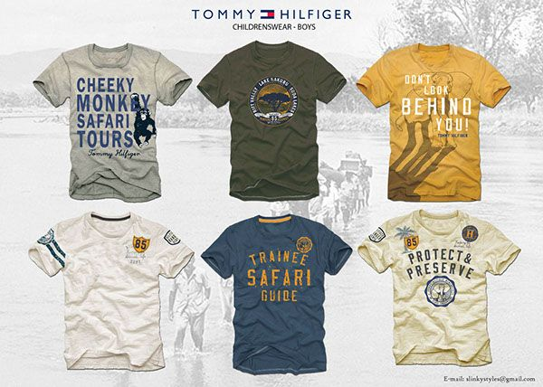 Tommy Hilfiger Kids Tees - Boys on Behance