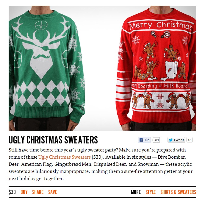 44 best Ugly Christmas Sweaters images on Pinterest | Christmas ...