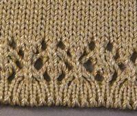 Full Needle Rib and Lace Hem Tutroial for Machine Knitting