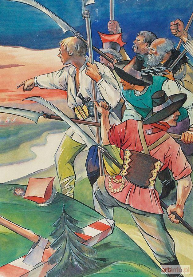 Zofia STRYJEŃSKA ● Powstanie, ok. 1930 ● Aukcja ● Artinfo.pl