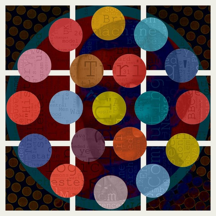 Turing Circles by Czar Catstick - Global Art Traders - Find Art and Prints Online