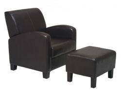 Metro Chair with Ottoman by Office Star $293