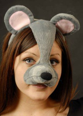 Mouse Mask On Headband